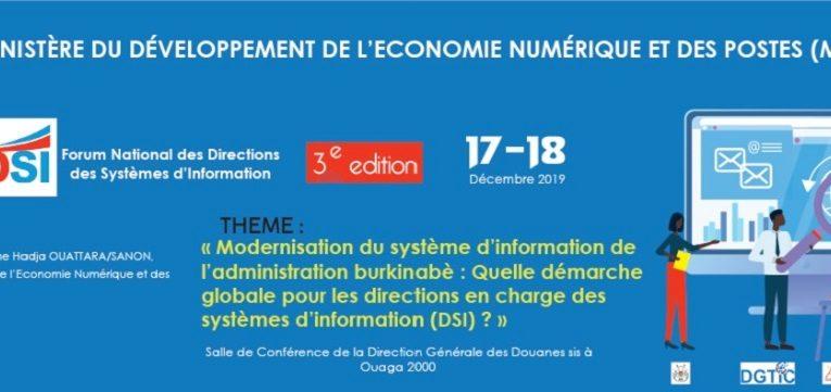 Participation de NTBF à la troisième édition du forum national des directions en charge des systèmes d'information